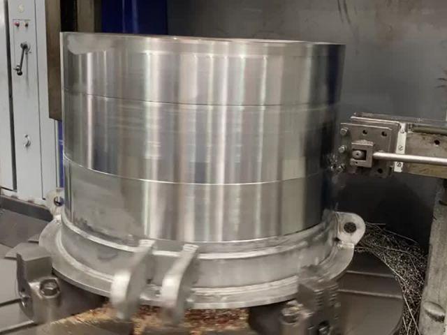 Mecanización de válvula tipo Howell-Bunger